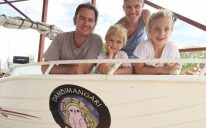Family's high seas adventure to follow Dambi Baton change