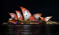 Lighting up the Opera House