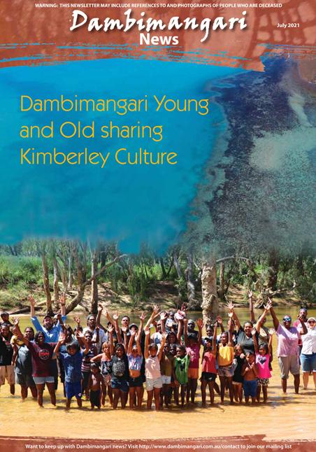 Dambimangari July 2021 Newsletter